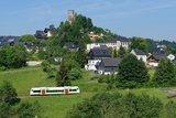thumbnail - Lobenstein mit Blick zum Bergfried der ehemaligen Burg