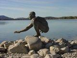 thumbnail - El Nino-Statue an der Radolfzeller Hafenmole
