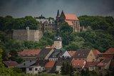 thumbnail - Schloss Mansfeld Blick auf der Ferne