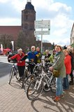 thumbnail - Radfahrer in der Eilenburger Innenstadt