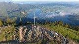 thumbnail - Jochberg Gipfel bei Sonnenaufgang
