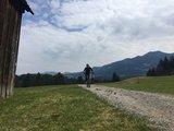 thumbnail - Mountainbiker unterwegs